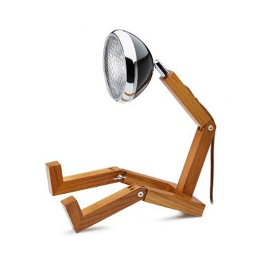 Tischlampe Mr. Wattson   Schwarz