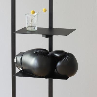 Planke für Garderobenständer | Schwarz