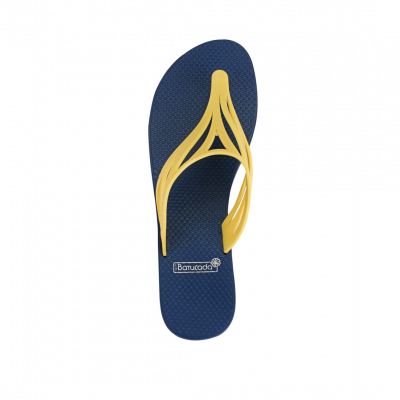 Slippers Swell | Blue & Yellow
