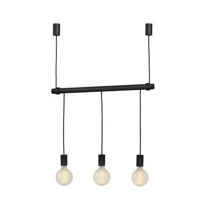 Light Swing Pendant   Black