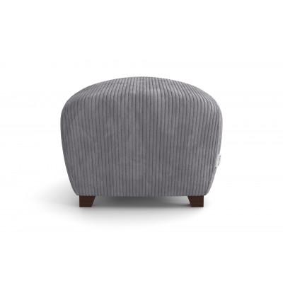 Pouf Milton   Light Grey