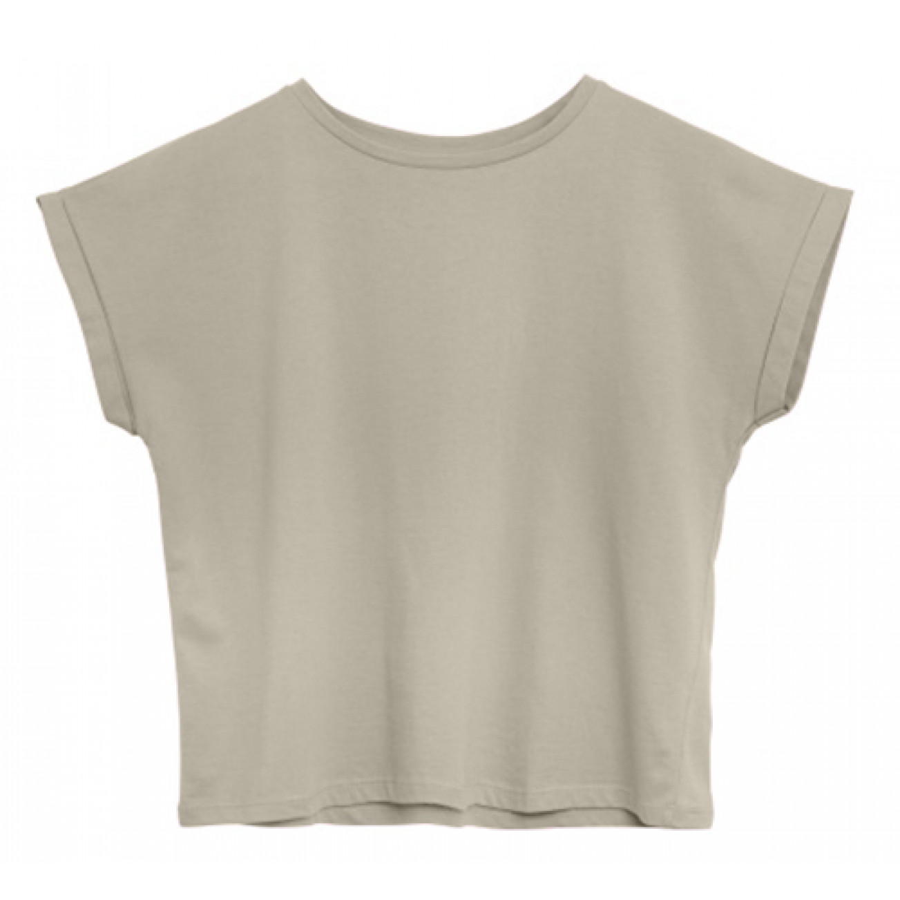 T-Shirt Baumwolle   Beige Organic