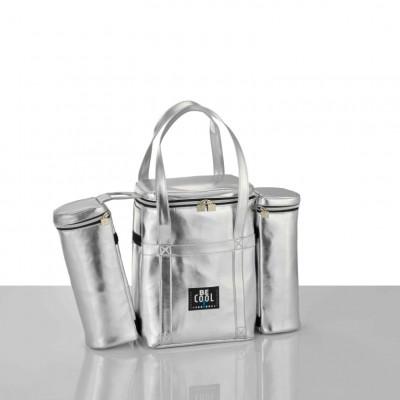 Abnehmbare Kühltasche | Silber