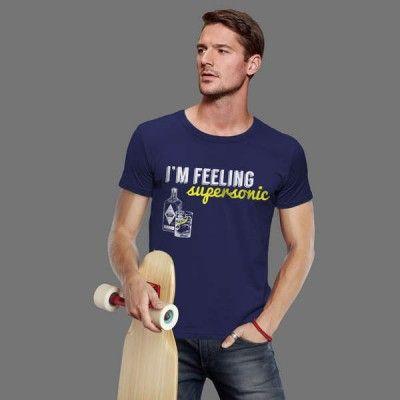 T-shirt Feeling Supersonic