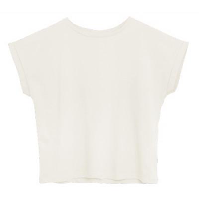 T-Shirt Baumwolle   Weiß
