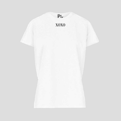 T-Shirt XOXO   Weiß