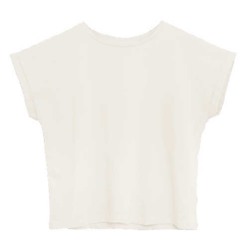 T-Shirt Baumwolle | Weiß
