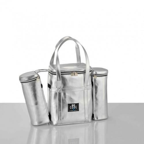 Abnehmbare Kühltasche   Silber