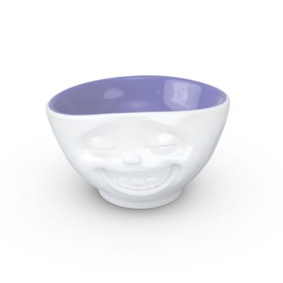 Schale Lachen 500 ml   Lavendel innen