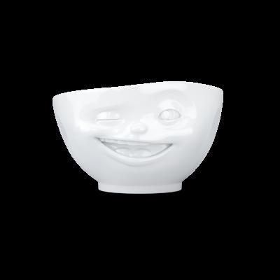 Schüssel Zwinkern 500 ml   Weiß