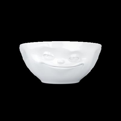 Schüssel Grinsen 350 ml | Weiß