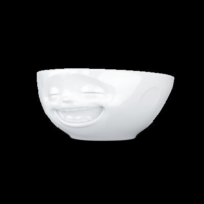 Schüssel Lachend 350 ml | Weiß