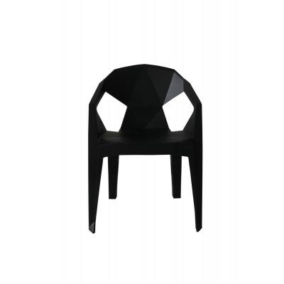 Outdoor-Stuhl Valerie | Schwarz