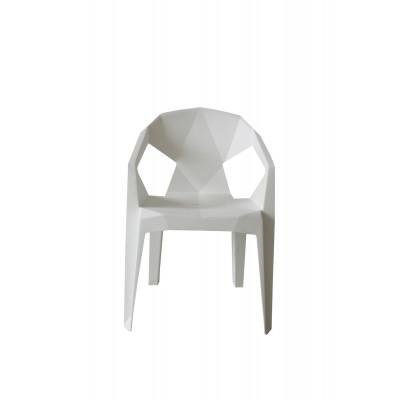 Outdoor-Stuhl Valerie | Weiß