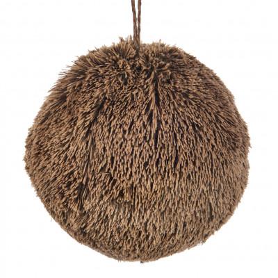 Fell-Ball 12 cm | Braun