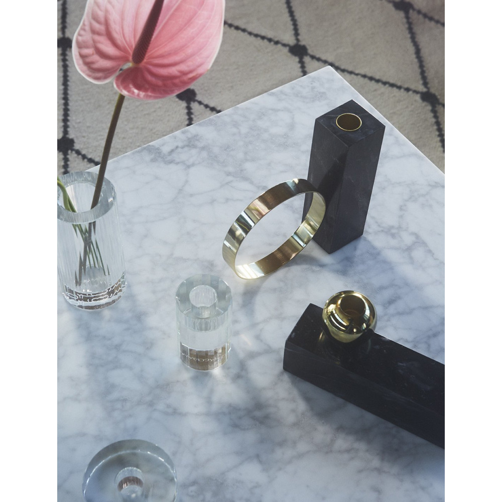 Kerzenhalter Tangent Hoch | Schwarz