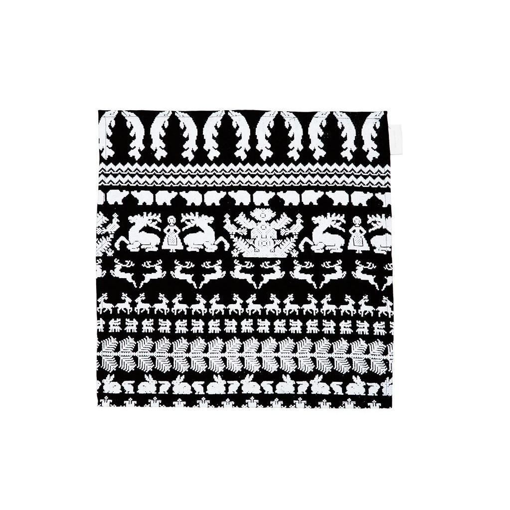 Keukenhanddoek Zwart/Wit