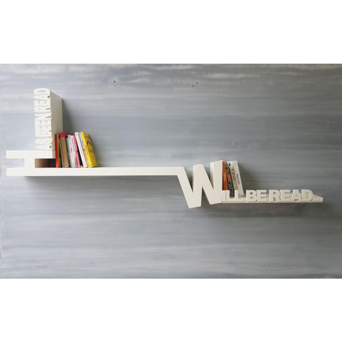 Typographic Bookshelf