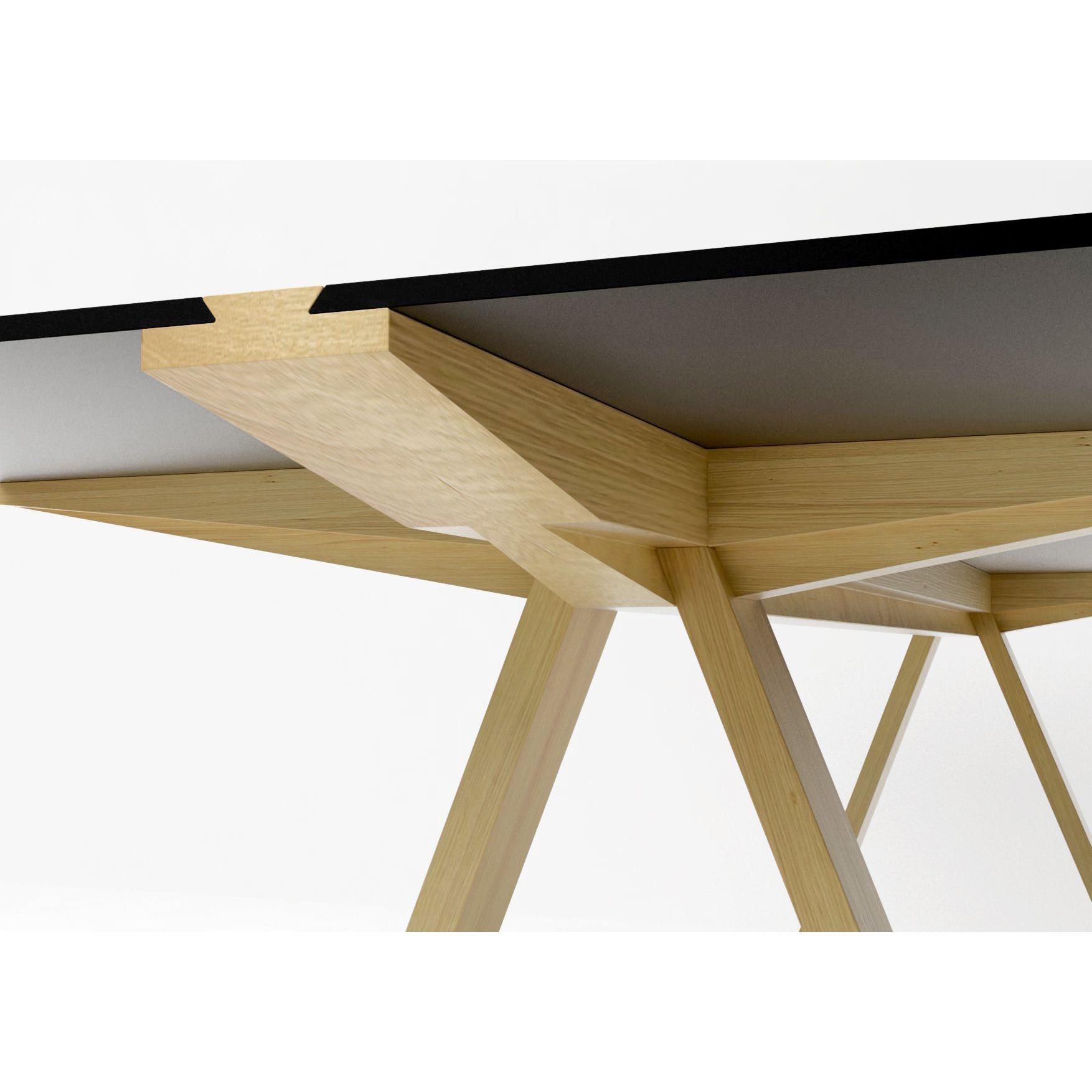 Traversovetro-Tisch - Schwarz