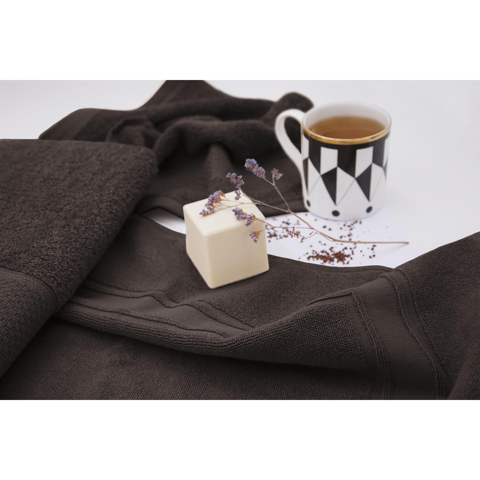 Badematte Elisa | Schokolade