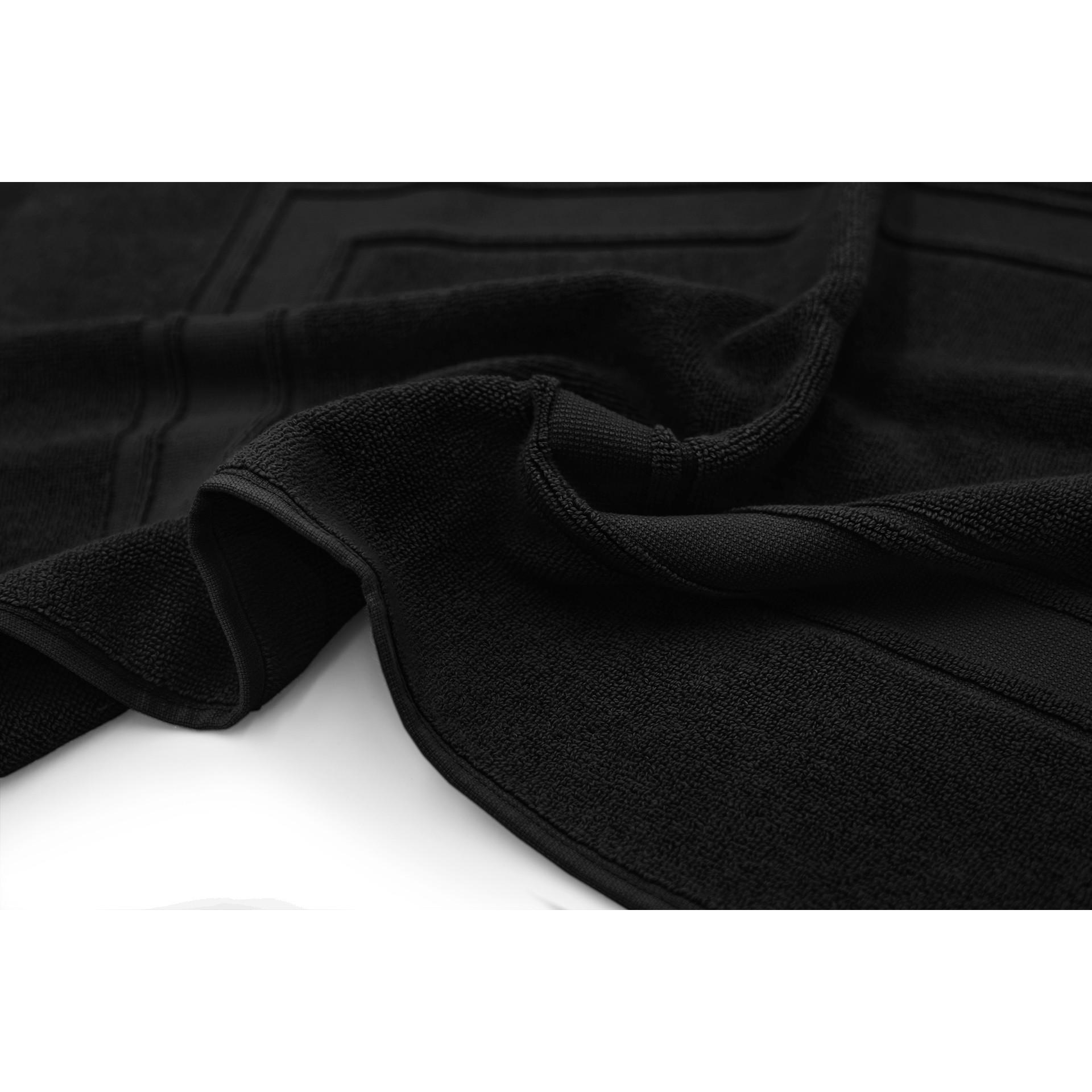 Tapis de bain James | Noir