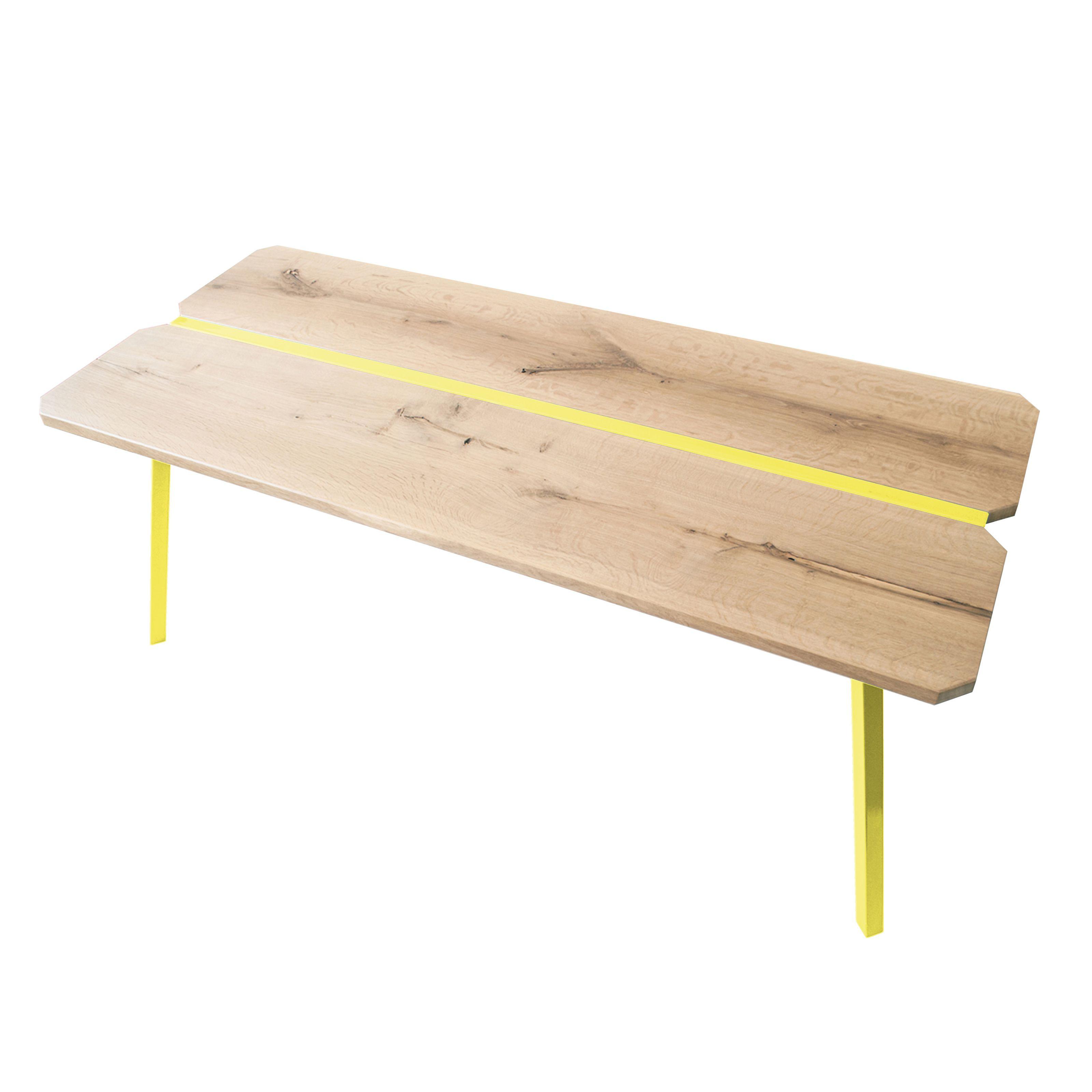 Tisch Myway   Gelb