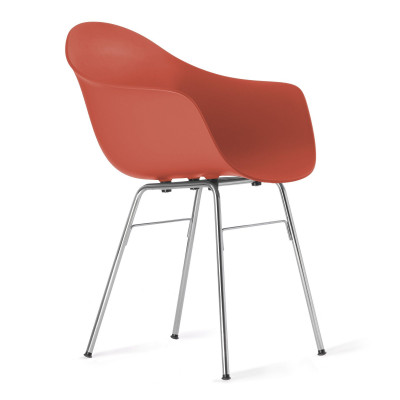 TA Arm Chair with Er Base | Red