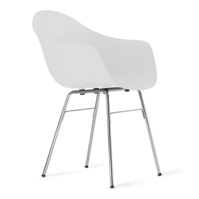 TA Arm Chair with Er Base | White