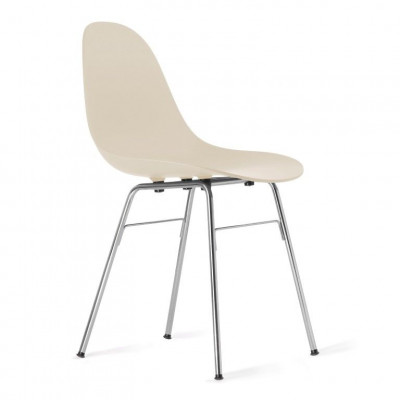 TA Side Chair with Er Base | Cream
