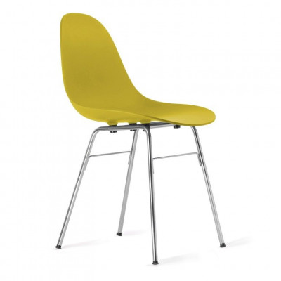 TA Side Chair with Er Base | Mustard