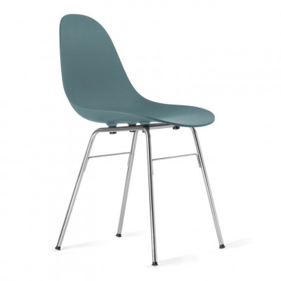 TA Side Chair with Er Base | Ocean Blue