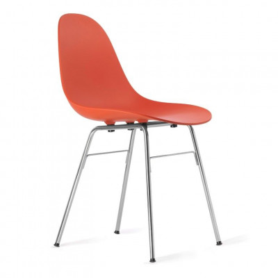 TA Side Chair with Er Base | Red