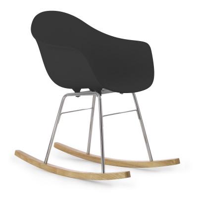 TA Arm Chair with Er Rocking Base | Black