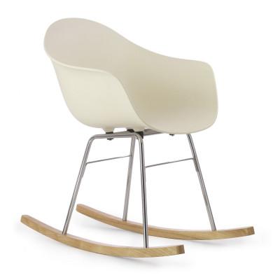 TA Arm Chair with Er Rocking Base | Cream