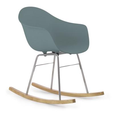 TA Arm Chair with Er Rocking Base | Ocean Blue
