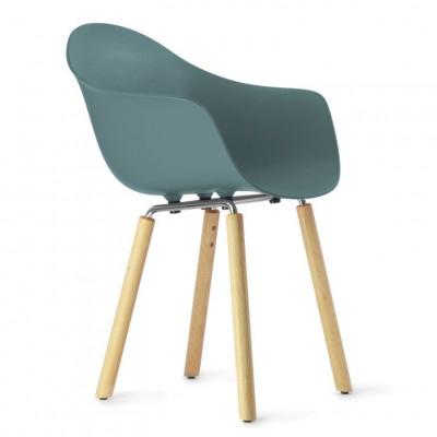 TA Arm Chair with Yi Base | Ocean Blue