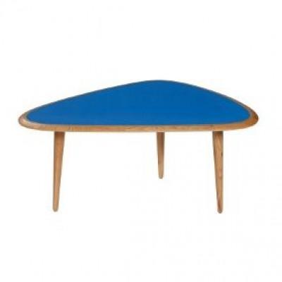 Fünfziger Jahre Tisch Klein | Blau