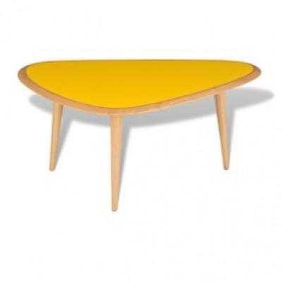 Fünfziger Jahre Tisch Klein Gelb