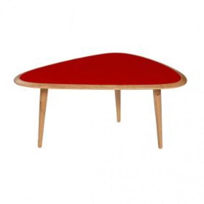 Fifties Tisch Klein Rot