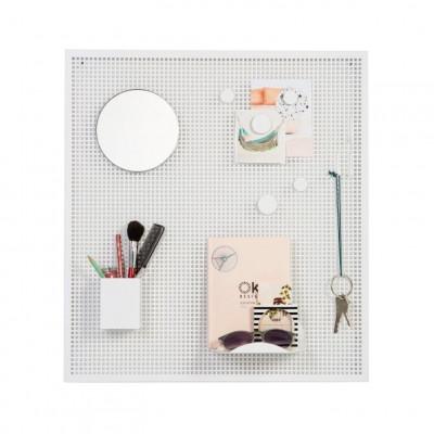 Magnetic Board Tableau | White