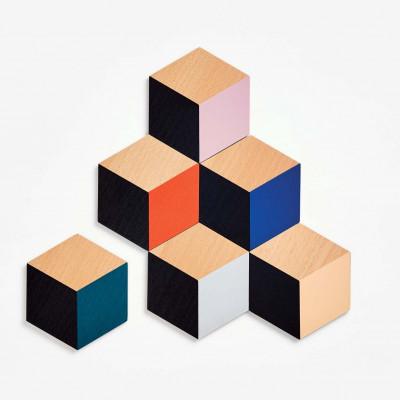 Untersetzer Tischfliesen 6er Set | Modern