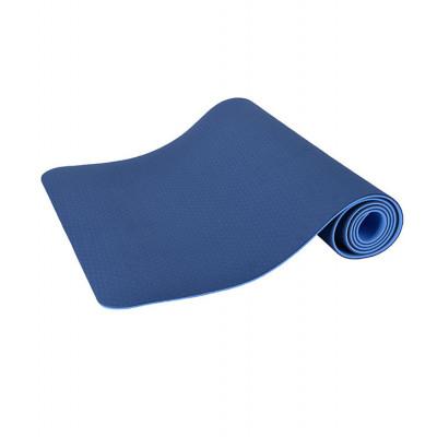 Yogamatte Anti-Rutsch | Dunkelblau & Hellblau
