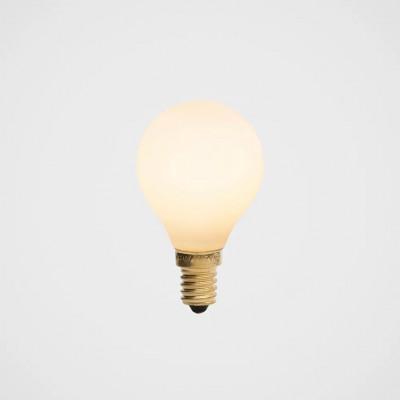 LED-Glühbirne Taporc I Porzellan 3W   Mattweiß