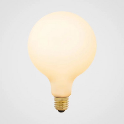 LED-Glühbirne Taporc III Porzellan 6W   Mattweiß