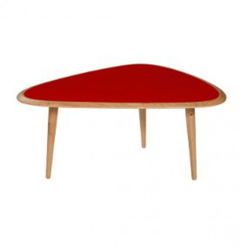 Fifties Table Small Red