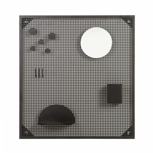 Magnetic Board Tableau   Black