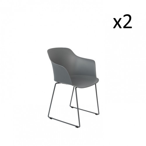 Set of 2 Armchairs Tango | Set of 2 | Grey