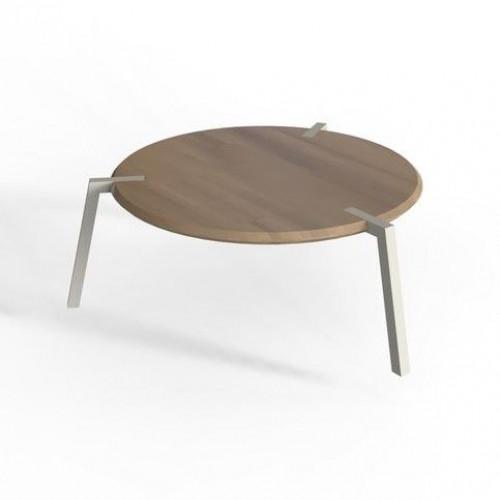 TAP Coffee Table   Oak on White