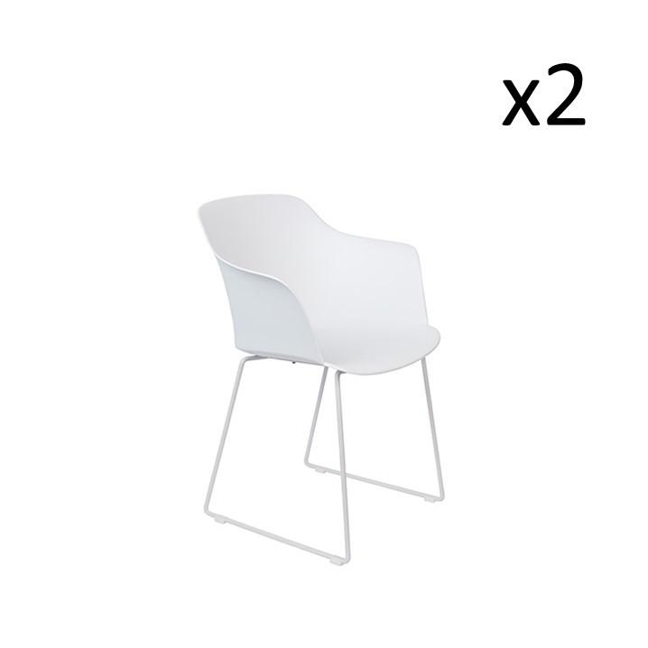 Set of 2 Armchairs Tango | Set of 2 | White