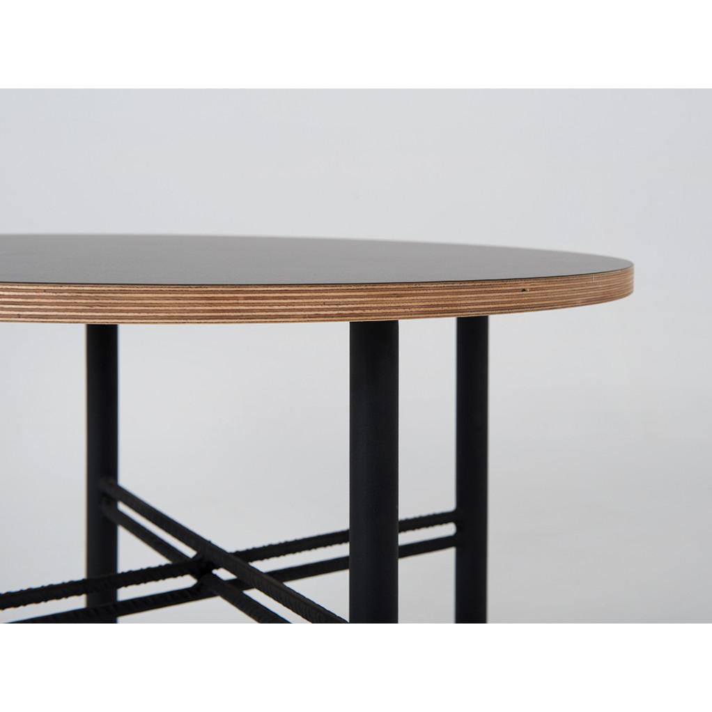 Beistelltisch Pento 60 x 60 x H 45 cm | Schwarz